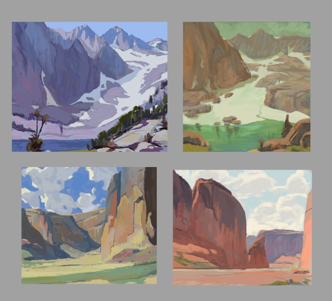 Color Studies Edgar Payne