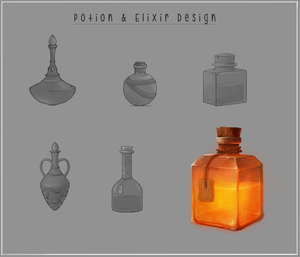 concept art Vials
